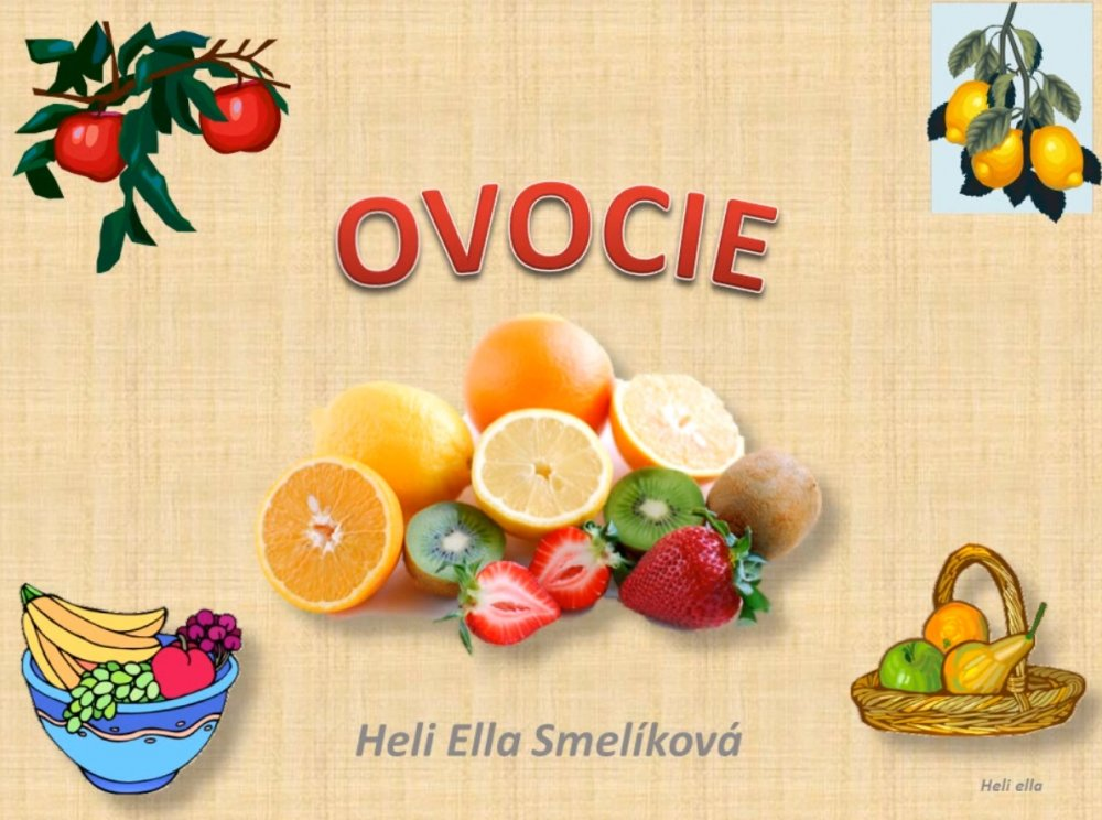 video - ovocie