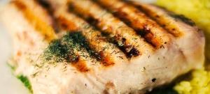 Zapekaný losos so syrom