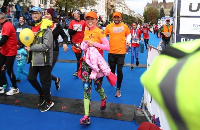 Maratón mieru v Košiciach bežal aj Ondrej Kandráč